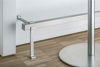 End cap, Stainless steel, bar railing system, square