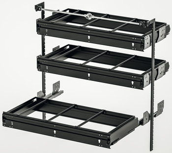 Equipment set, Häfele Variant-S, suspension filing frame