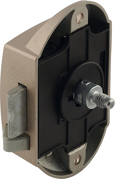 25 mm backset Push button espagnolette lock