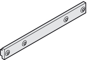 Extension set, for connecting running tracks