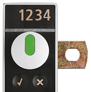 Extra charge for 4-digit laser engraving, For SAFE-O-TRONIC<sup>®</sup> access locker lock