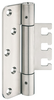 Extra heavy duty hinge, Startec DHX 1160 HD, for flush architectural doors up to 300 kg