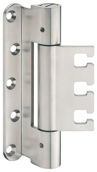 Extra heavy duty hinge, Startec DHX 2160 HD, for rebated architectural doors up to 300 kg