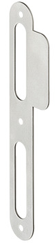 Flanged striking plate, for rebated/flush doors, Startec