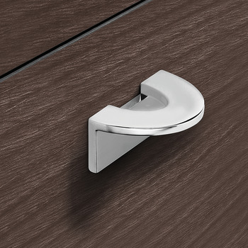 Flush pull handle, zinc alloy finger pull handle
