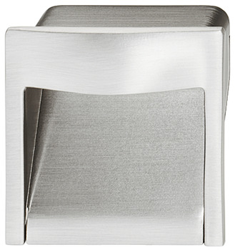 Flush pull handle, zinc alloy, square