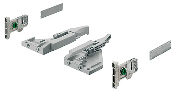 Front fixing brackets, For Vionaro H89 drawer
