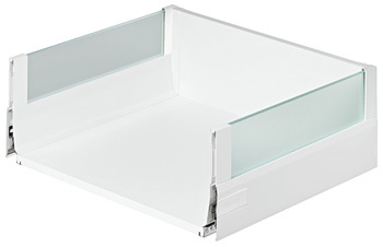 Front pull-out, Blum Tandembox intivo, system height L, drawer side height 101 mm