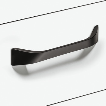 Furniture handle, D handle, aluminium