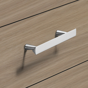 Furniture Handle, Handle with base, zinc alloy