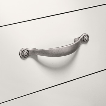 Furniture Handle, Zinc alloy bow handle
