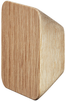 Furniture knob, Solid wood