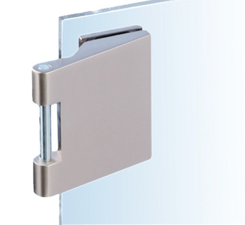 Glass door hinge , Junior Office Classic, Dorma Glas, with 3-piece hinges