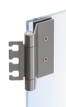 Glass door hinge , VXG 7990/120 K, 3-piece hinge, Simonswerk