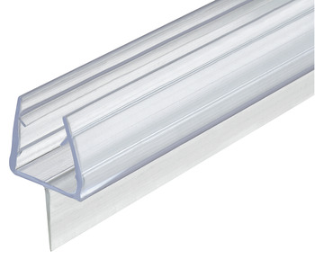 glass door seal, For shower cubicles, glass-floor