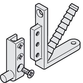 Guide bracket, for Hawa Vertical 150