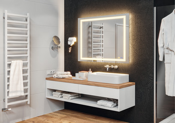 Häfele Aquasys Bathroom mirror, Häfele Aquasys, multi-functional