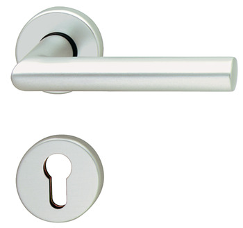 Half set , Aluminium, Hoppe, Amsterdam 1400/42/42S impact resistance category 1 (protection class 2)