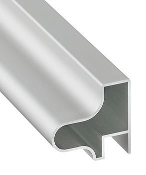 Handle profile, For sliding doors, aluminium