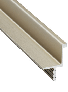 Handle Profiles, Aluminium, for seemingly handle-less fronts