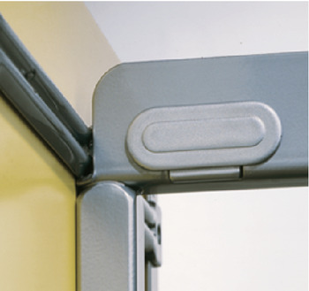 Hook-off protection, for clipping in, for larder unit pull-out