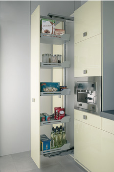 Insert mat, for hook-in shelf for larder unit pull-out