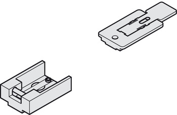 Interlocking hold-open device, For Dorma G 96 N guide rail