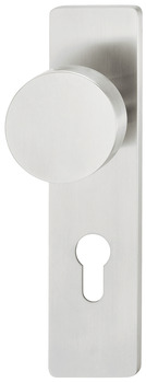 Knob backplate, Stainless steel, FSB, model 19 1963