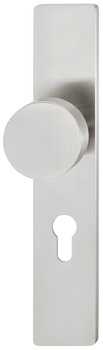 Knob backplate, Stainless steel, FSB, model 19 1970 03310 6204