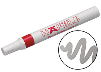 Lacquer touch-up pencil, Häfele, for touching up/repairing, surface products