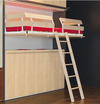 Scaletta Per Letto A Castello.Ladder Bed Guard For Duoletto Built In Foldaway Bed Online At