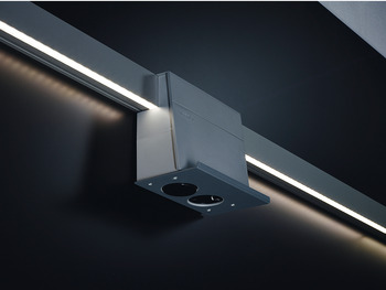 LED set, eBoxx LED set, for railing system, aluminium
