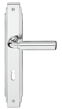 Lever handle set, Brass, Bisschop, Gent 1820/8002