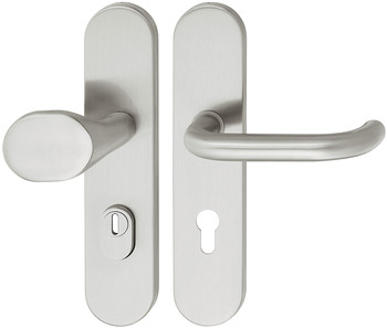 Lever handle set, Stainless steel, Startec, SDH 2102