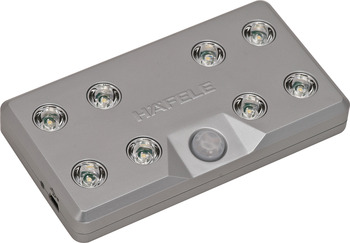 Rechargeable With Integrated Motion Detector LED Light 9004 by Hafele