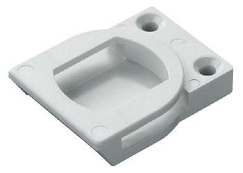 Locking part, Duomatic Push, for aluminium frame profiles with width from 17 to 35 mm