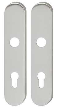 Long backplate, Aluminium, Ogro