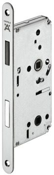 Magnetic mortise lock, For hinged doors, bathroom/WC, Startec