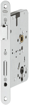 Mortise lock, for escape routes and panic areas, B 2329, profile cylinder, BKS