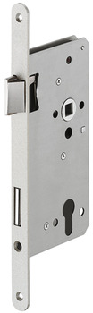 Mortise lock, for external apartment doors and external building doors, profile cylinder