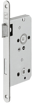 Mortise lock, for hinged doors, Startec, grade 2, bathroom/WC