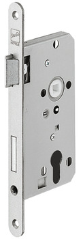 Mortise lock, for hinged doors, Startec, grade 2, profile cylinder