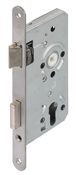 Mortise lock, for hinged doors, Startec, profile cylinder