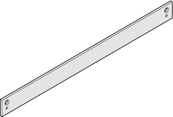 Mounting plate, for guide rail from the TS 90 range, Dorma