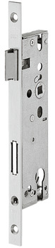 Narrow frame mortise lock, BKS, 1300