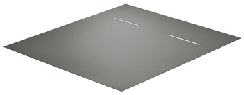 Non-slip mat, For multiple-compartment waste bin 2 x 17 litres / 3 x 17 litres