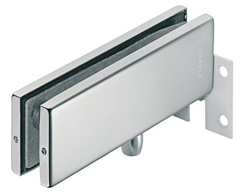 Overpanel pivot patch fitting, with screw-on plate for wall mounting, Startec
