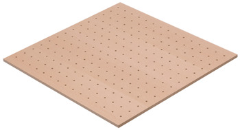 Perforated board insert, Häfele Matrix Box P, wood, for pull out for door front fixing