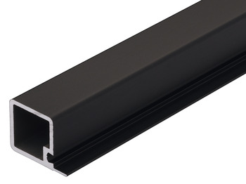 Pole section, Aluminium, Length 600-1200 mm, Schuco
