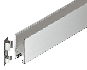Rail, Top, Startec, for glass double action doors